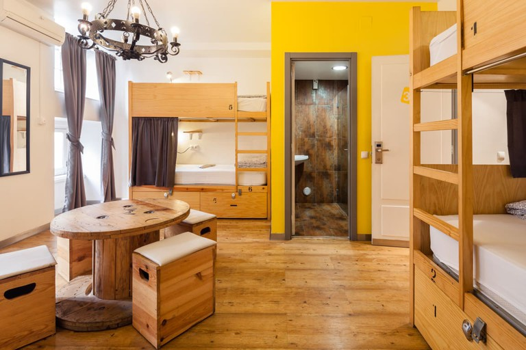 Shared room at Yes! Lisbon Hostel