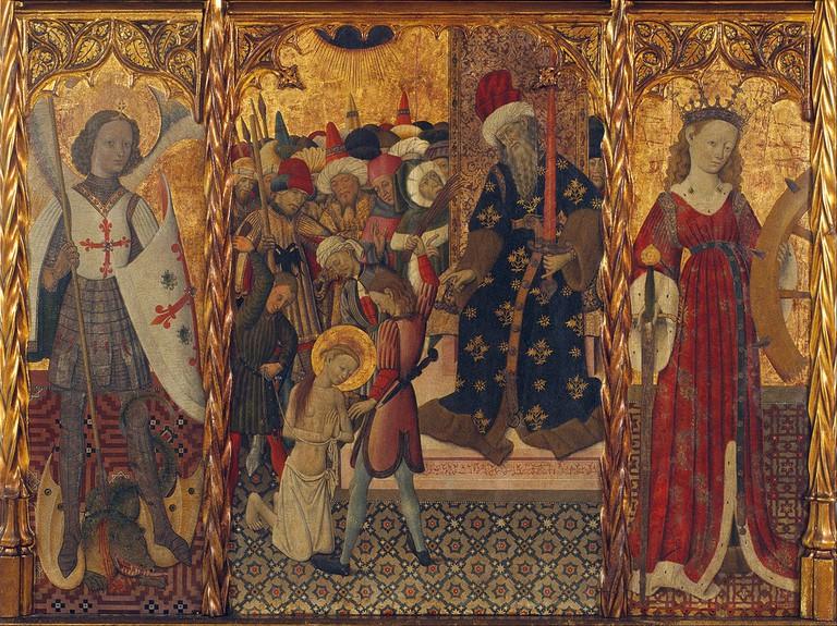 Martydom of Santa Eulalia (c. 1442-45) | Bernat Martorell / Wikimedia Commons