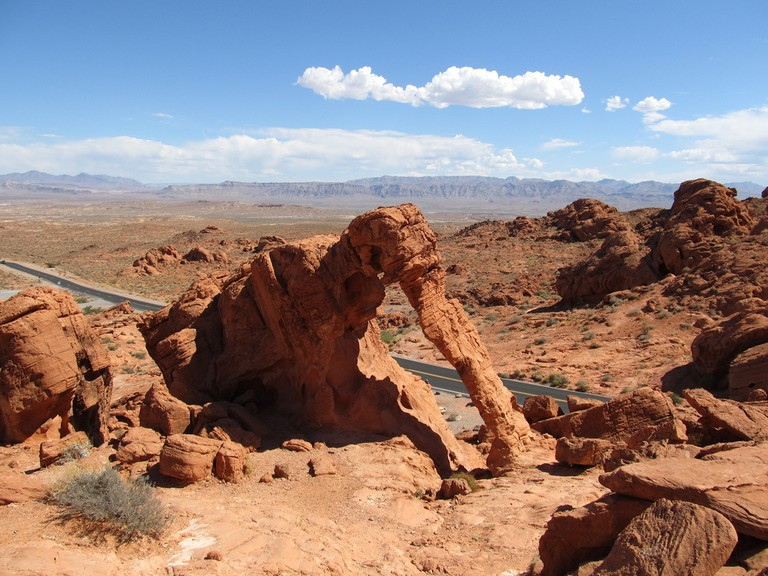 Elephant Rock inside Valley of Fire | © Ken Lund/Flickr
