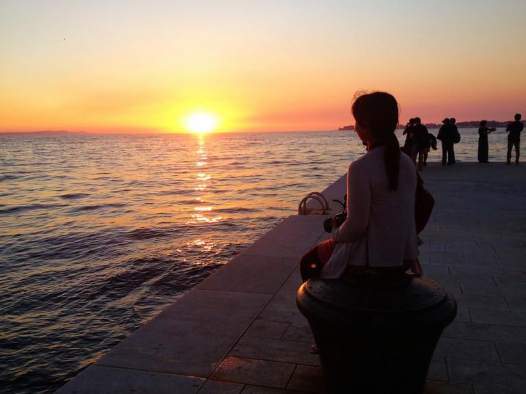 Zadar sunset   © Patty Ho/Flickr