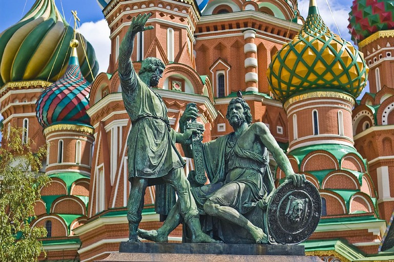 Monument to Minin and Pozharsky, Moscow