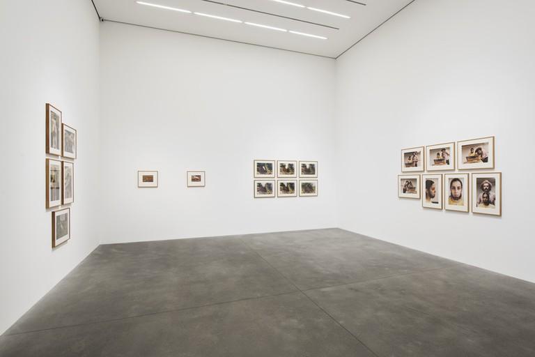 Installation view Ana Mendieta: Metamorphosis