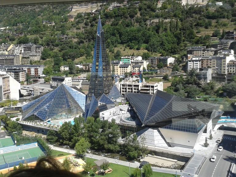 Caldea spa complex, Andorra
