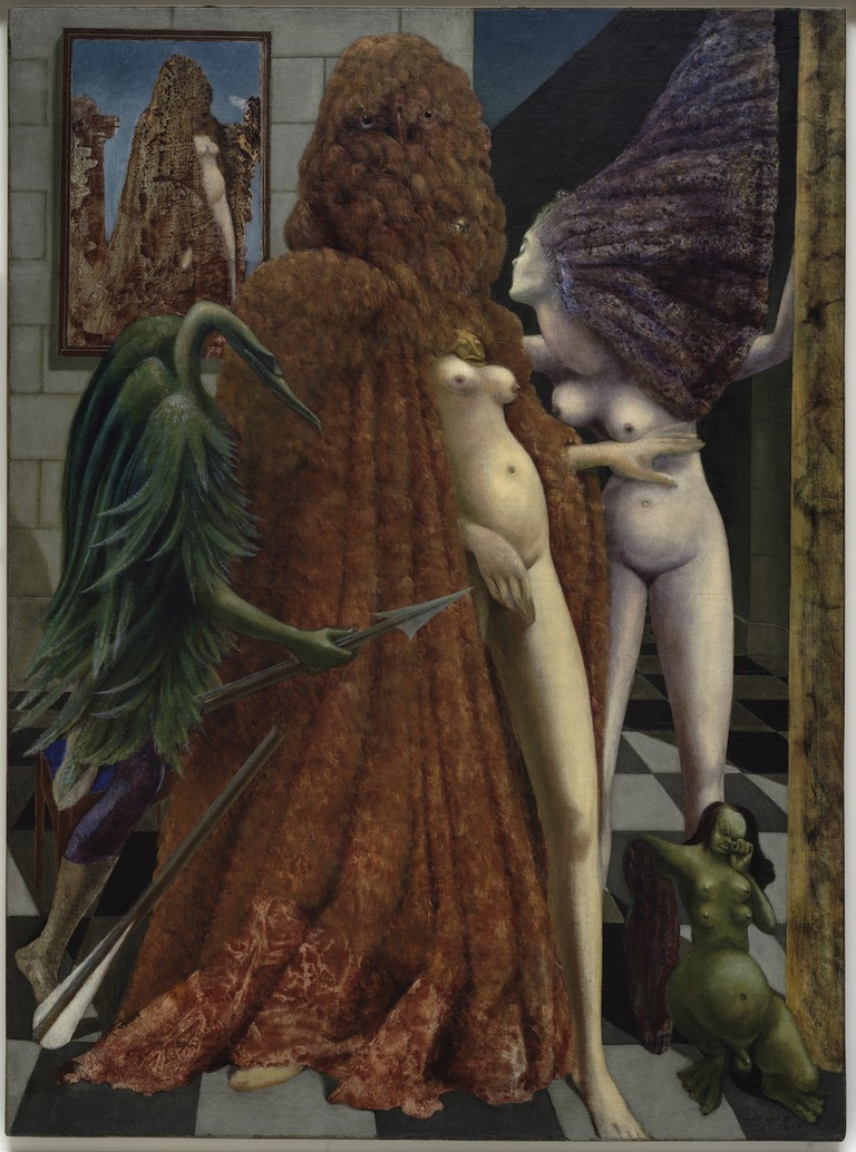 Max Ernst, Attirement of the Bride (La Toilette de la mariée), 1940. Peggy Guggenheim Collection, Venice | © Max Ernst, by SIAE 2017