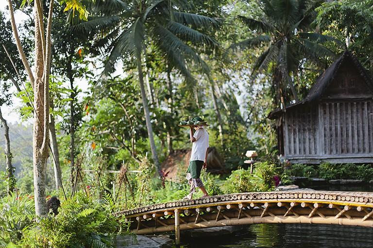 Bambu Indah - Bamboo Bridge