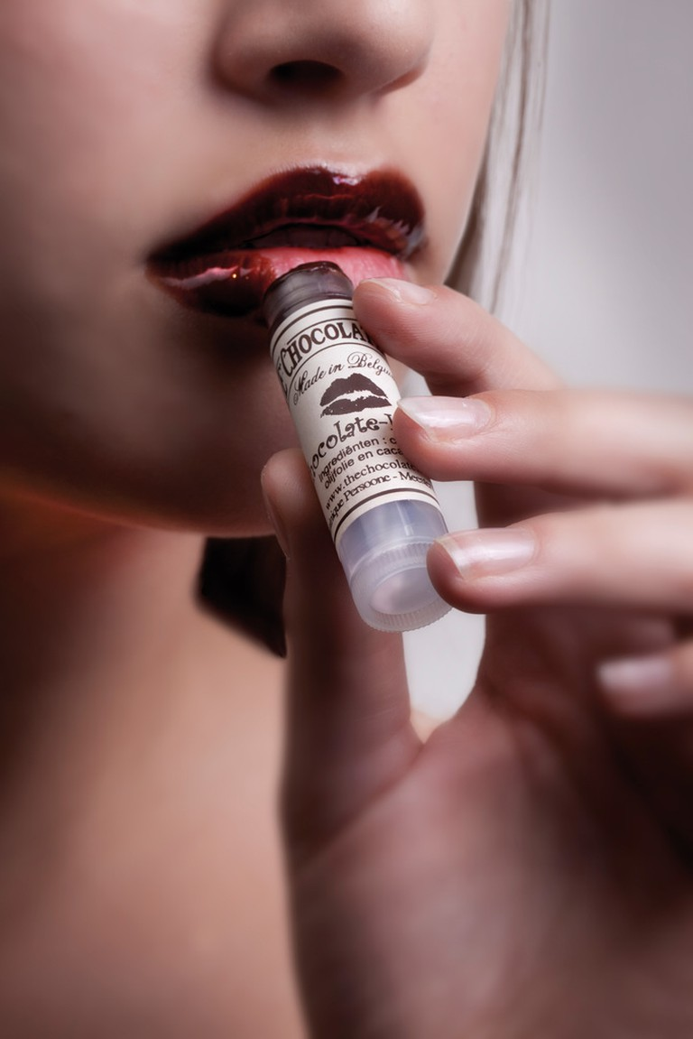 Chocolate lipstick by Dominique Persoone | © Jan D'Hondt / courtesy of Visit Bruges
