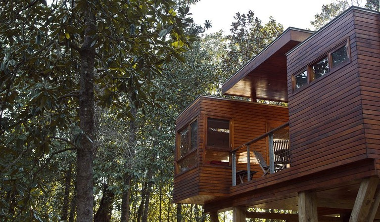 Accommodation in the trees