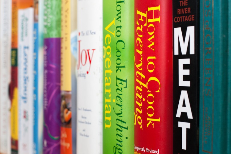 Get inspired with cookbooks | © Tim Sackton / Flickr