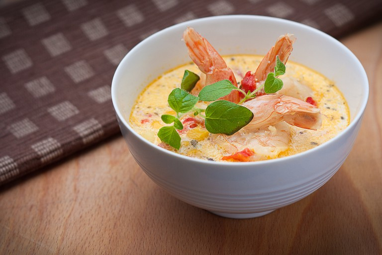 Learn to make seafood chowder   © Leszek Leszczynski / Flickr
