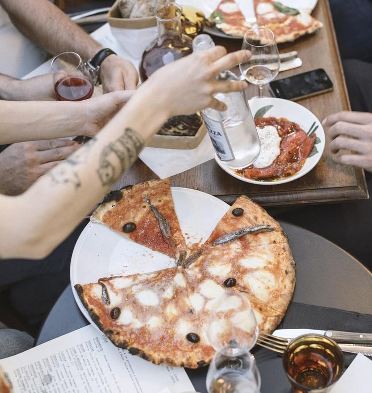 Dining at Faggio