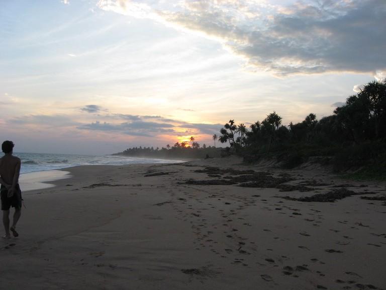 Evening Beach © Tracy Hunter / Flickr