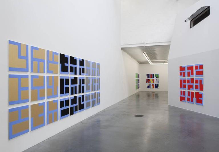 Exhibition view Philippe Van Snick: Permutatie 1972 - 2015, at Galerie Tatjana Pieters | courtesy of Galerie Tatjana Pieters
