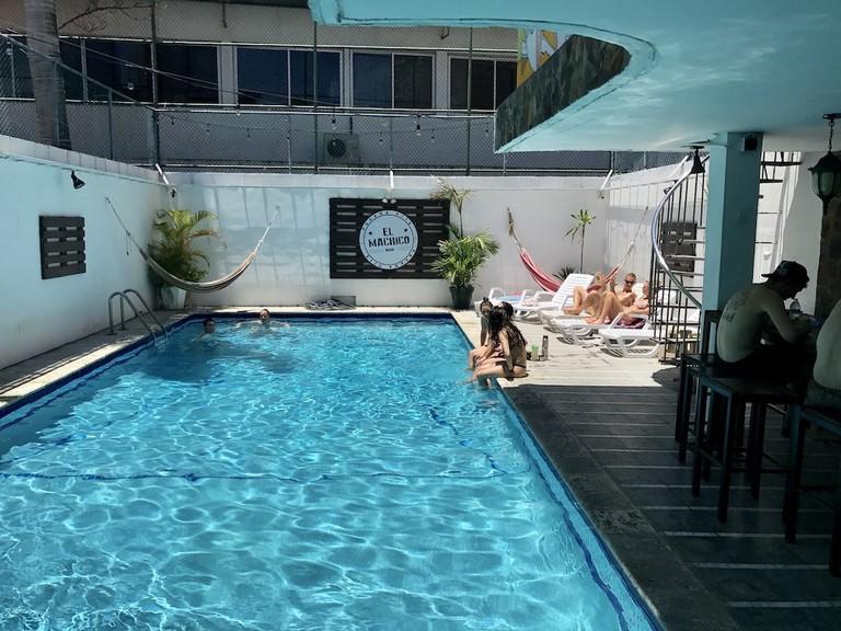 Pool at El Machico Hostel Panamá, Panama City