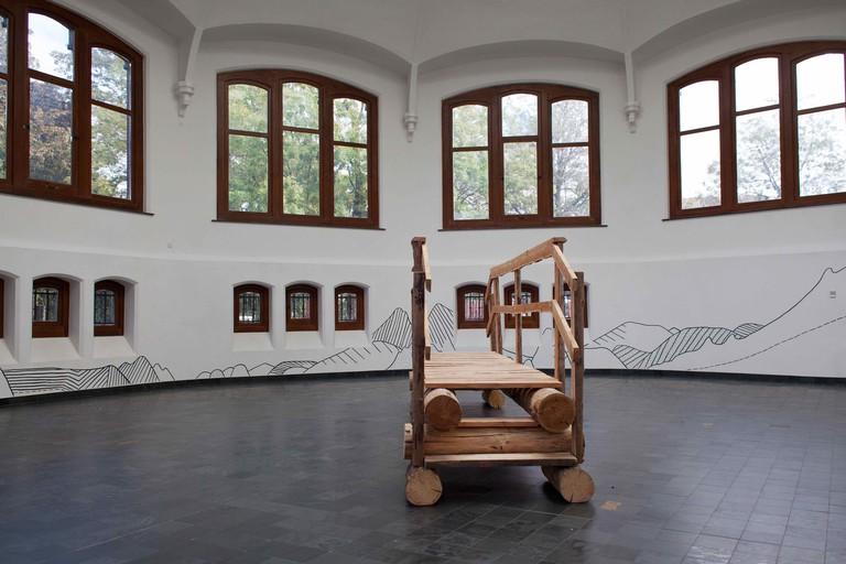Jérémie Gindre, exhibition view 'Kamp Kataloog', 2016
