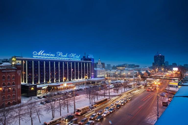 """The hotel """"Marins Park Hotel Ekaterinburg"""", Sverdlovskaya oblast"""