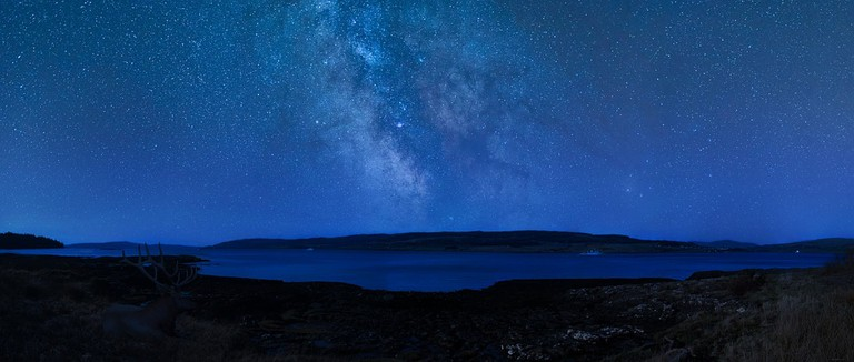 Stars Over Isle Of Coll and Isle Of Mull