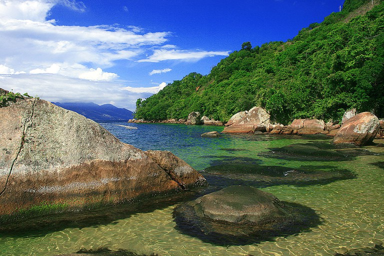 Scenery at Ilha Grande