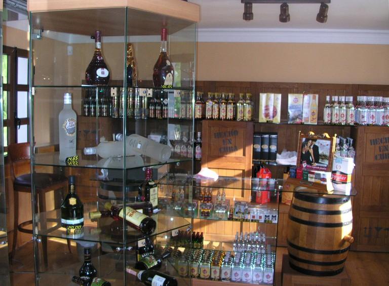 Expect to find high-end rum shops at Galerías de Paseo