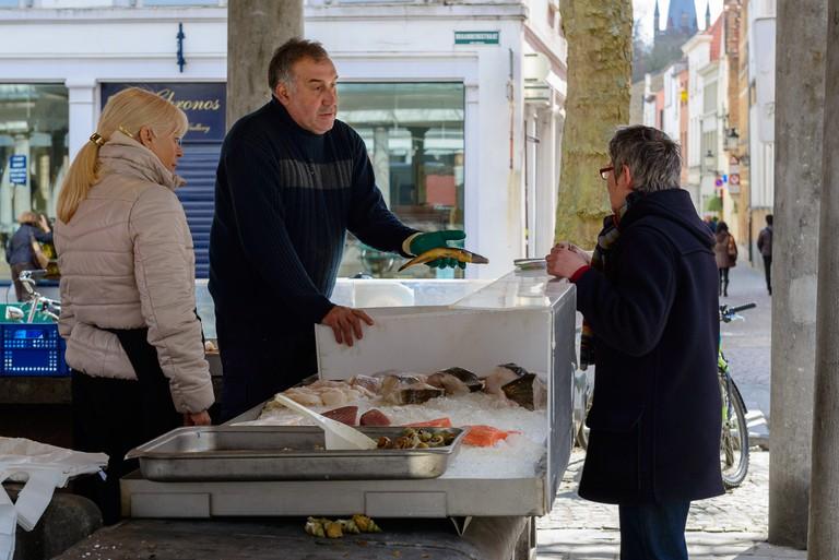 Vismarkt or 'Fish Market' | © André P. Meyer-Vitali / Flickr