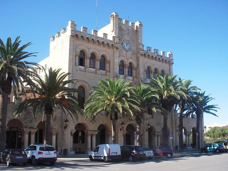 Town hall of Ciutadella   © Maria Hdez. / WikiMedia Commons