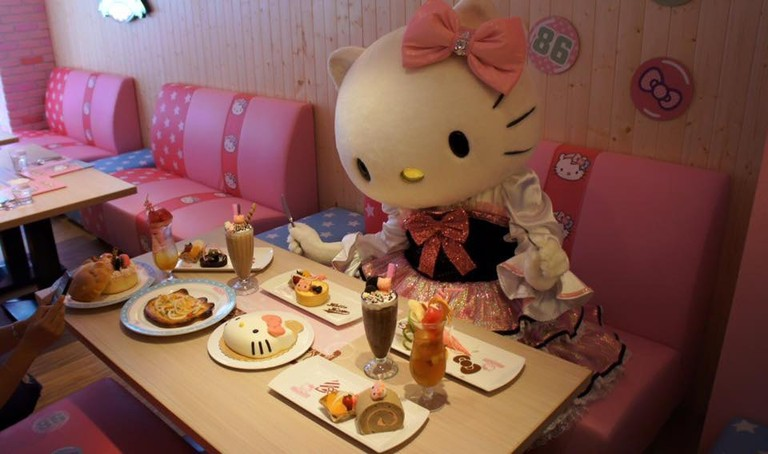 Lunch with Hello Kitty