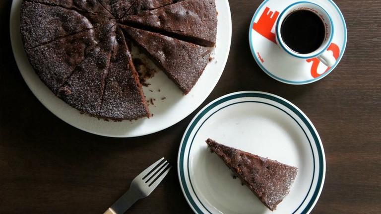 Cake and Coffe at Kuroshio