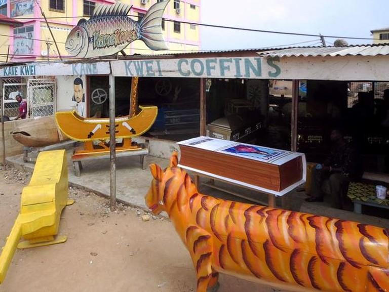 Kane Kwei Coffin Workshop