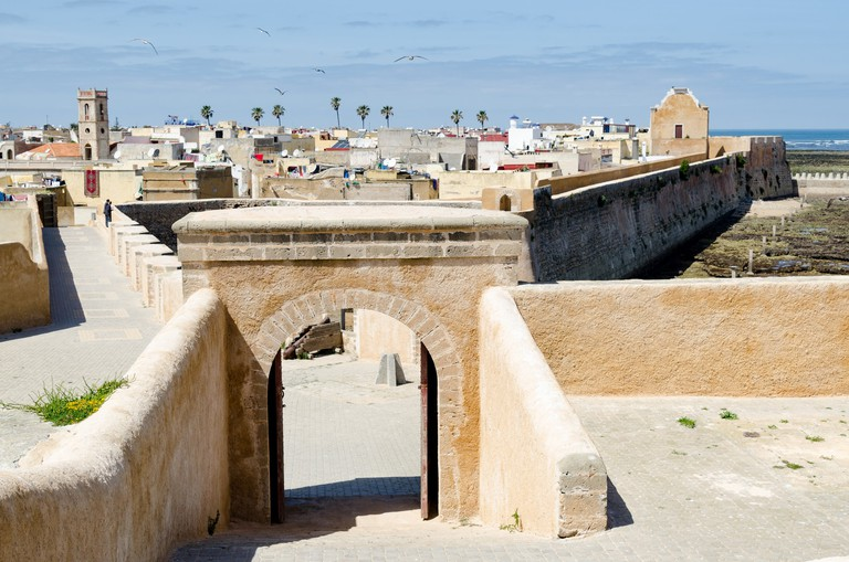 Views of the historic Mazagan Fortress and old Portuguese City in El Jadida