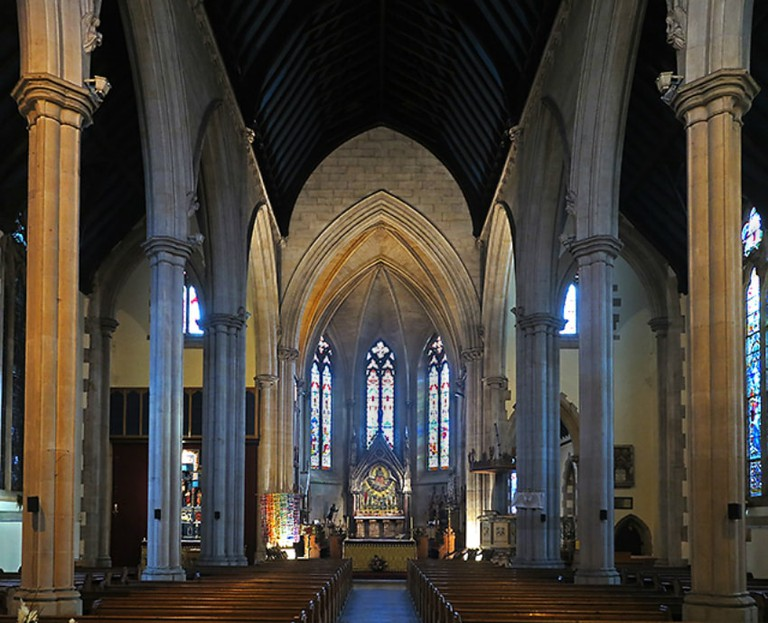 Inside St Paul's Cathedral, Dundee