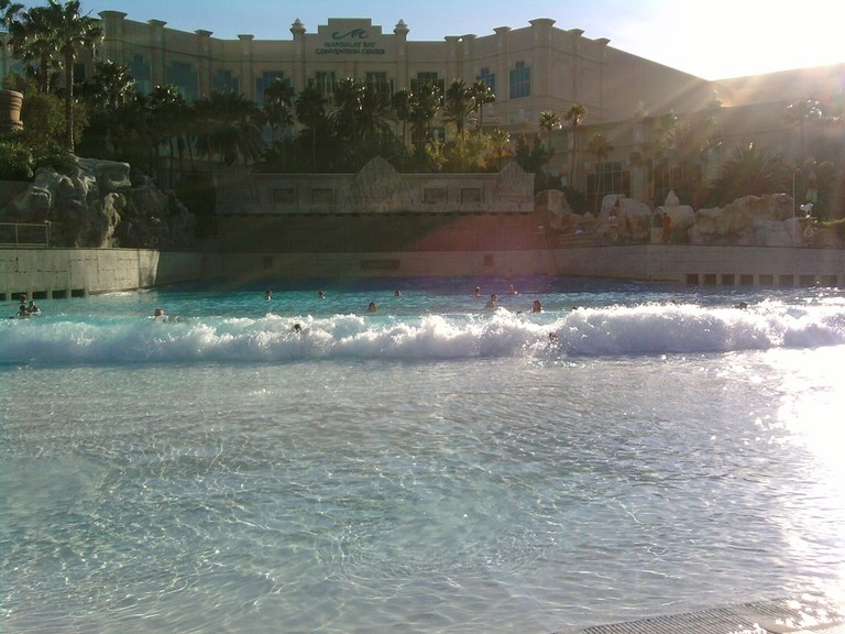 One of the venues at Mandalay Bay includes the beach | © Jeff Sandquist/Flickr
