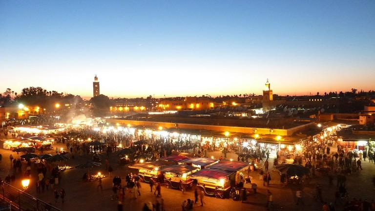 Djemma el Fna, Marrakech