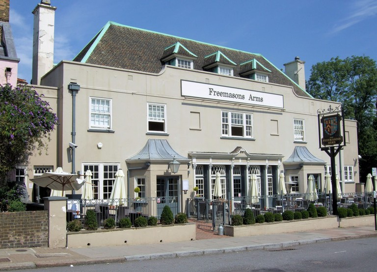 The Freemasons Arms, Hampstead