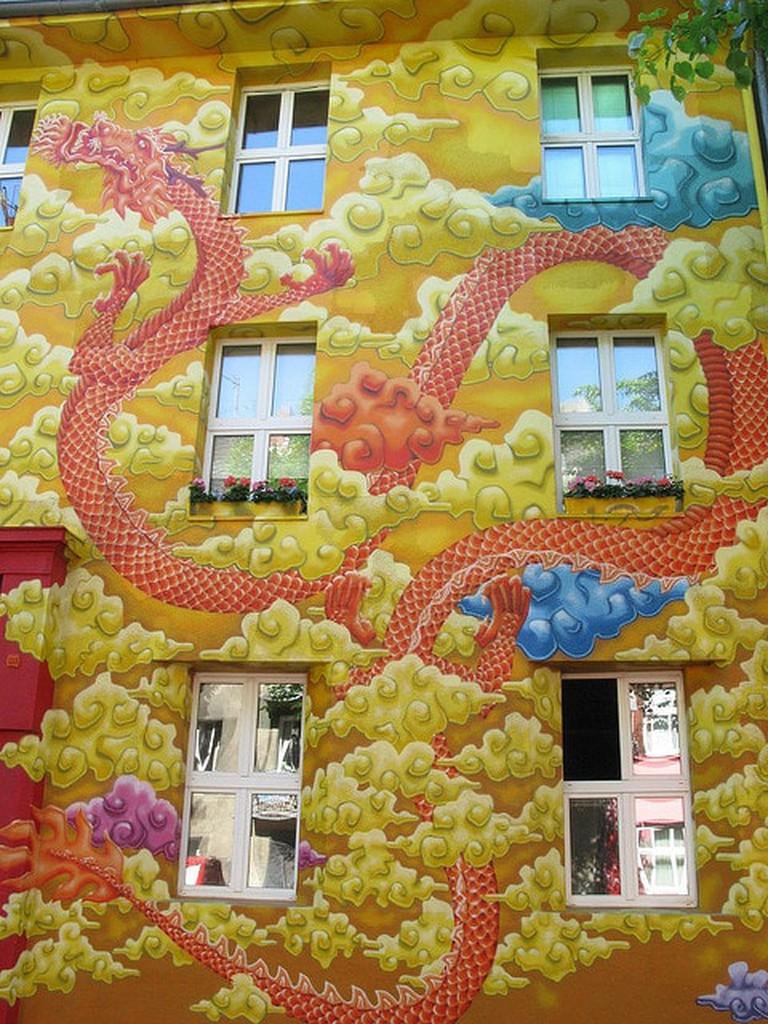 Kiefernstraße, Dusseldorf, Germany | © Michael/Flickr