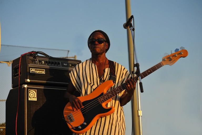 Bass guitarist