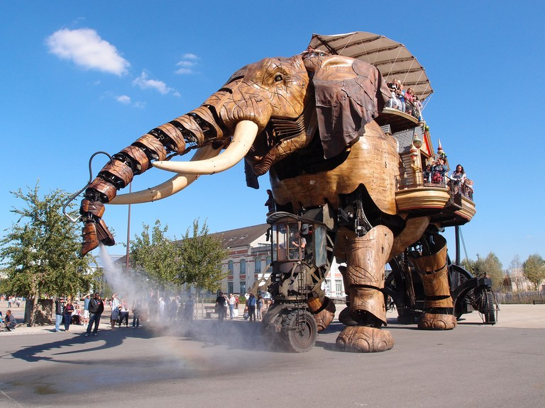 Le Melting Potes is located on Île de Nantes, home to the city's famous mechanical elephant