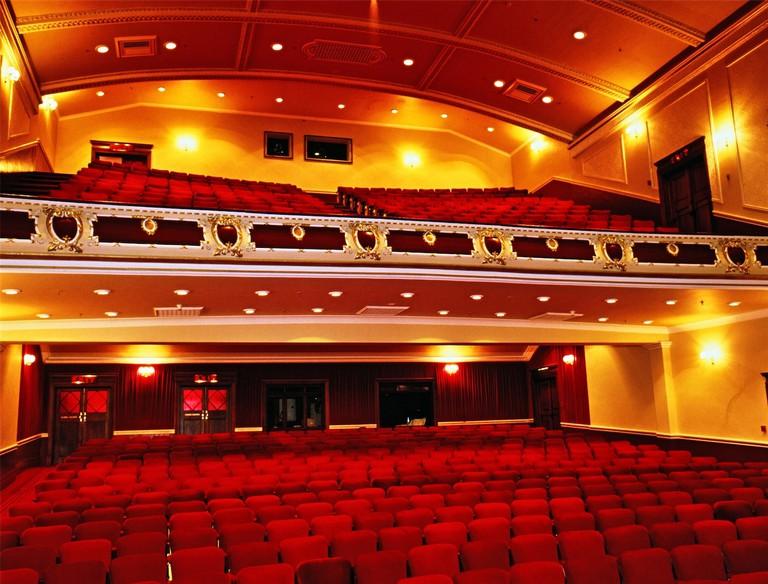 Interior of Port Elizabeth Opera House
