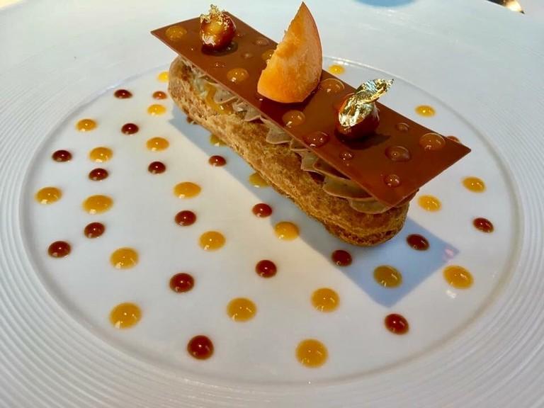 Dishes at La Promenade ooze artistic finesse and precision