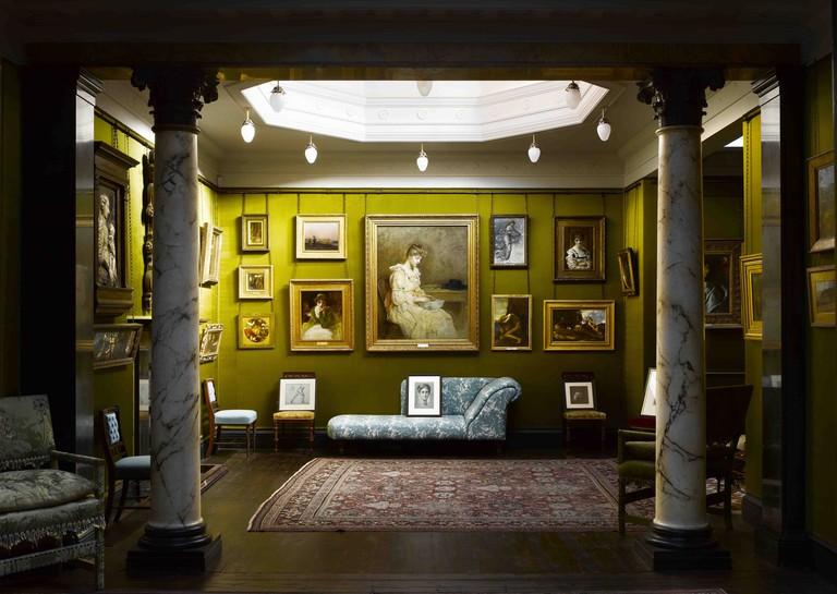 Leighton House Museum silk room