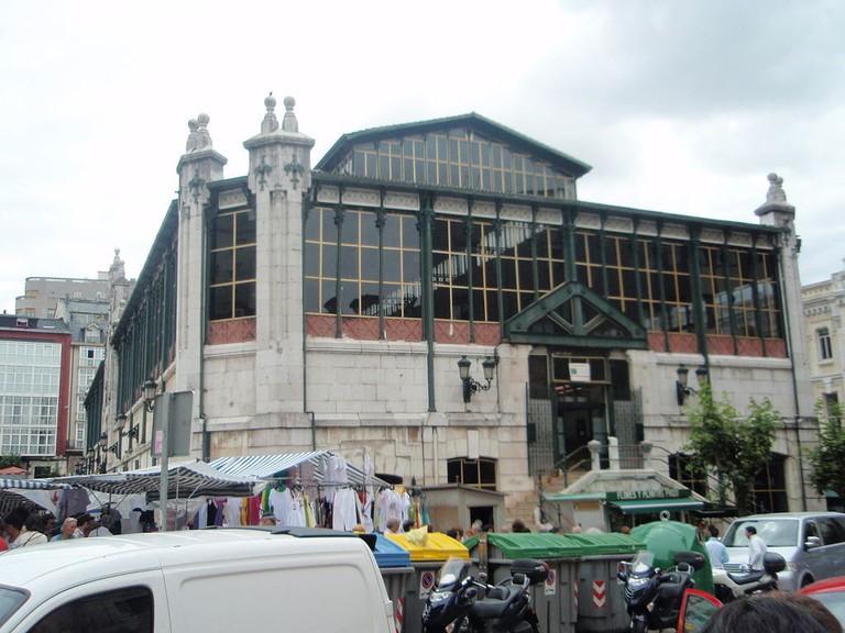 Mercado La Esperanza, Santander | ©Dagane / Wikimedia Commons