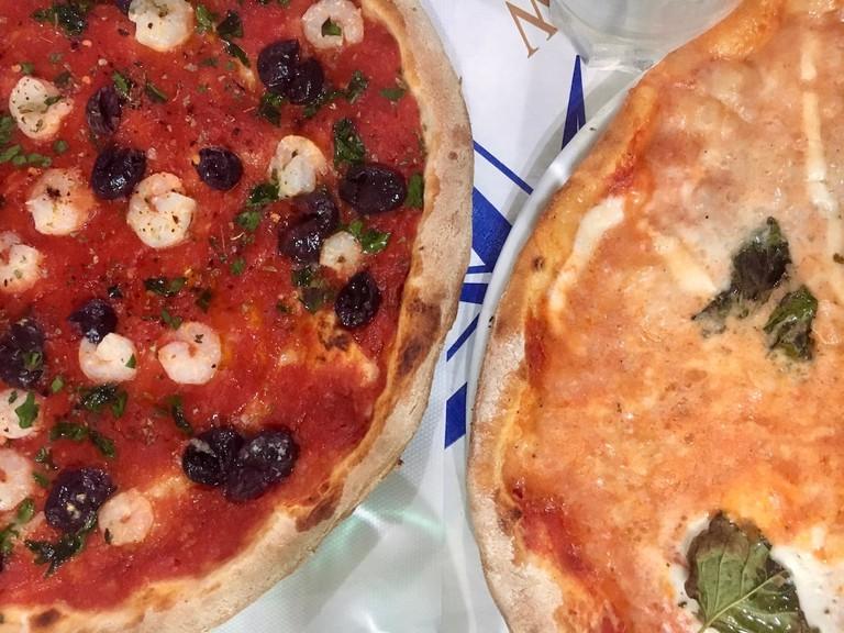 Pizza - Ponza- Gillian Longworth McGuire