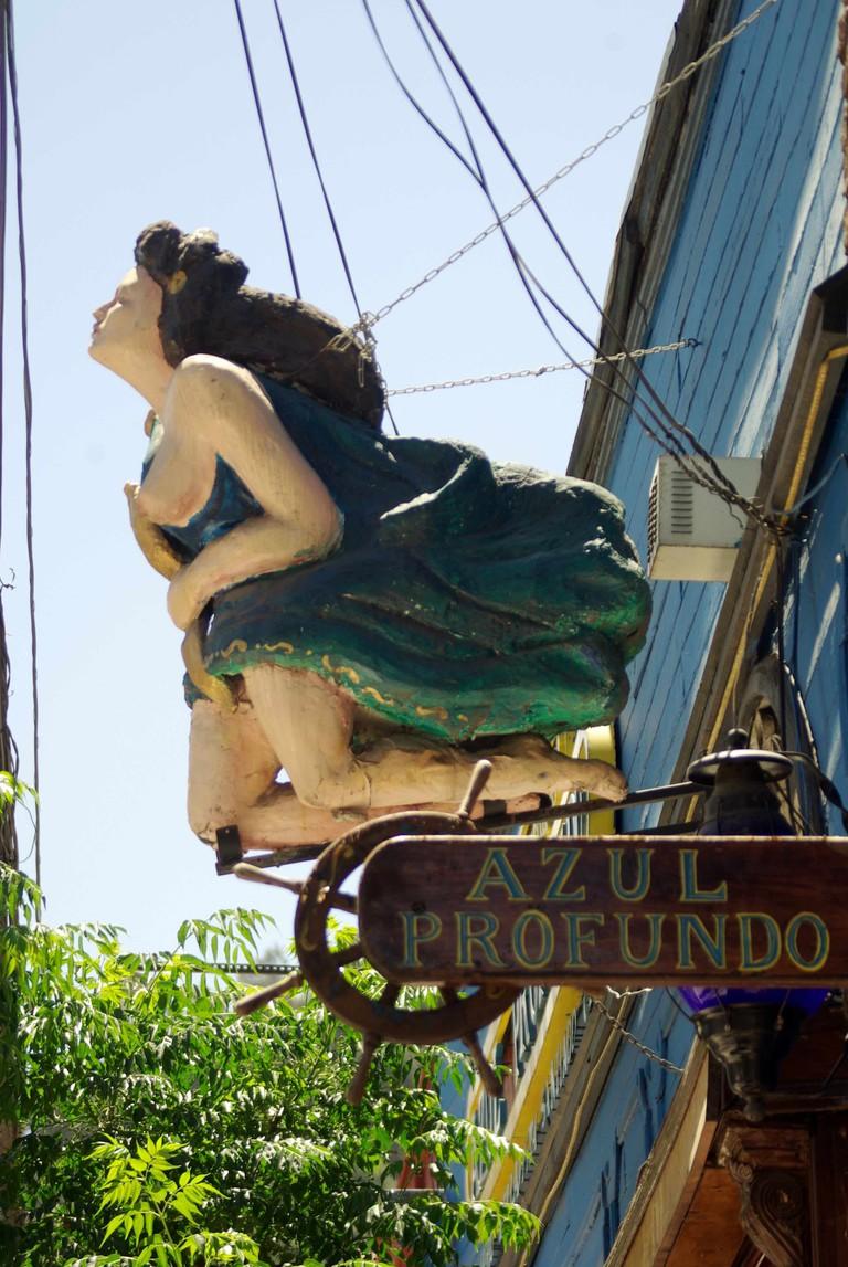 Restaurante Azul Profundo