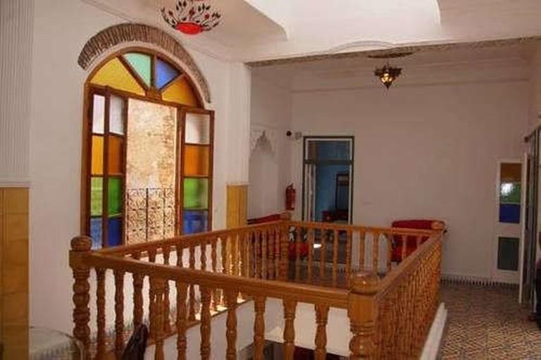 Inner balcony at Riad Ksar El Jadida