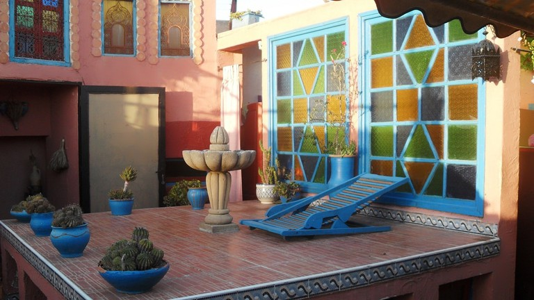 Beautiful details in the attractive and traditional Riad Le Mazagao