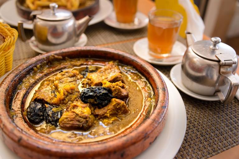Moroccan tagine