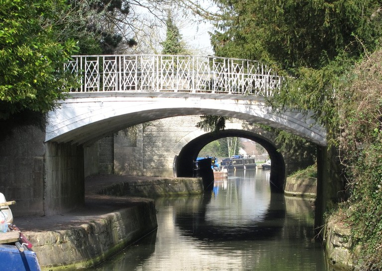 The Kennet and Avon Canal in Sydney Gardens | © Plumbum64/WikiCommons