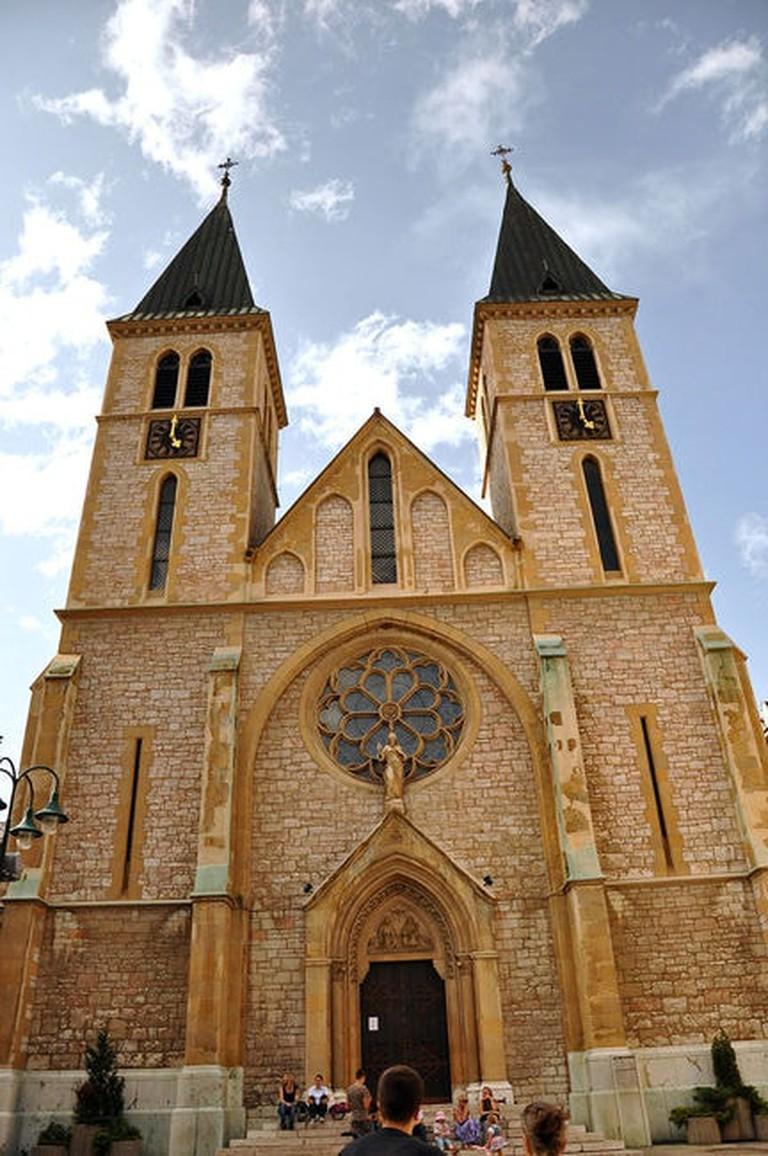 It looks similar to Notre Dame, right? | © Jennifer Boyer/WikiCommons