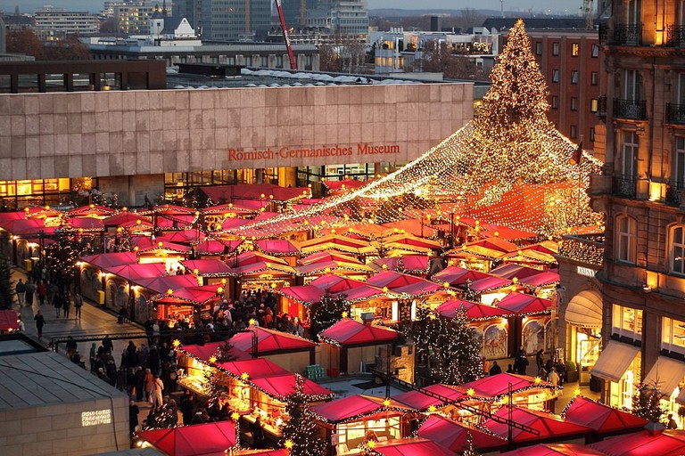 Christmas market at the Cologne Cathedral, Köln