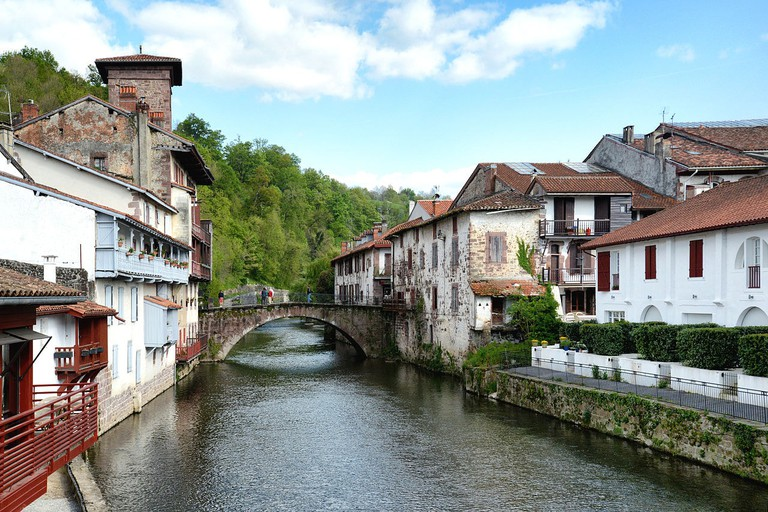 Saint Jean Pied de Port, France | ©Pierre Bona / Wikimedia Commons