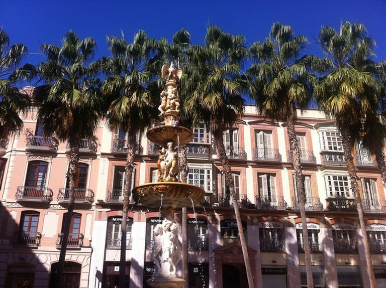 Málaga's lovely old town is about a 15 minute walk from Casa al Sur