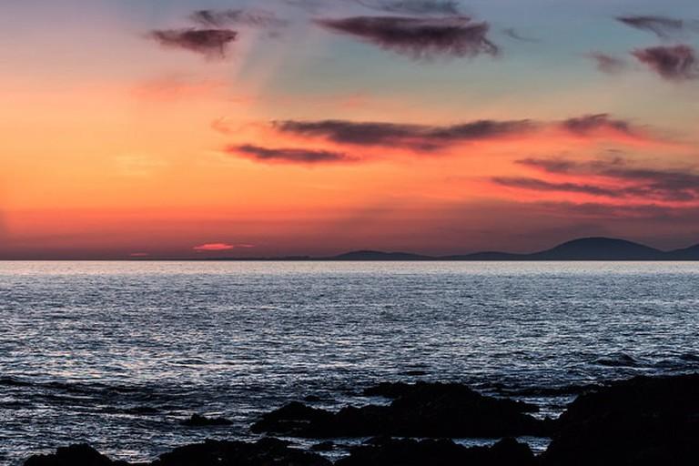 Sunset at Punta del Este, Uruguay
